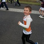 George running The Green Park Challenge