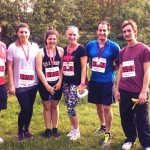 Team Alto-Lounge after completing a 5k at Dinton Pastures