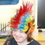 Erin from Pathways at Henley College - UK-wide competition winner for 'best hat'