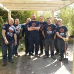 SGN volunteers team photo