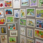 Client art displayed at Nettlebed Art and Craft Show